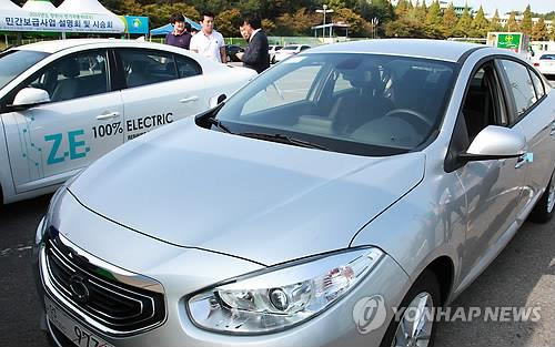 雷诺考虑2019年在韩国发售Zoe电动汽车