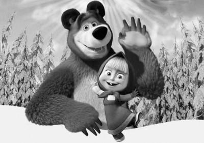 俄动画片《玛莎和熊》是宣传战武器?