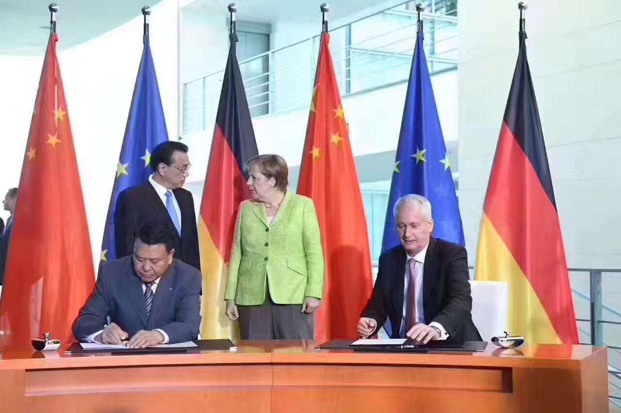北汽集团与戴姆勒签署框架协议 加强新能源汽车合作