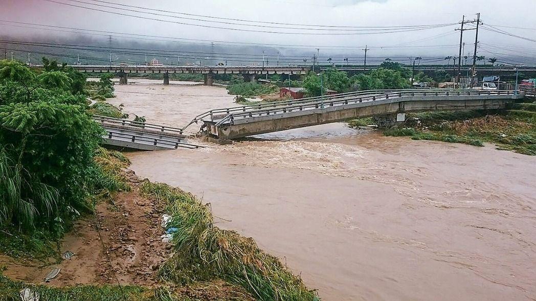 21年来最强梅雨狂袭 台湾北部地区成重灾区