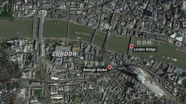 伦敦恐袭已致6死20多伤  3名男嫌犯被击毙