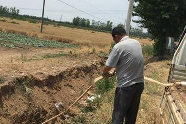 天旱西瓜渴!村民买水灌溉 5亩地浇一遍要200元