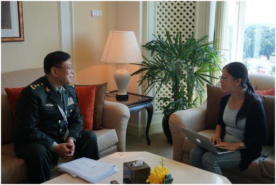 中将:中方不能容忍美军在中国岛礁临近抵近侦察