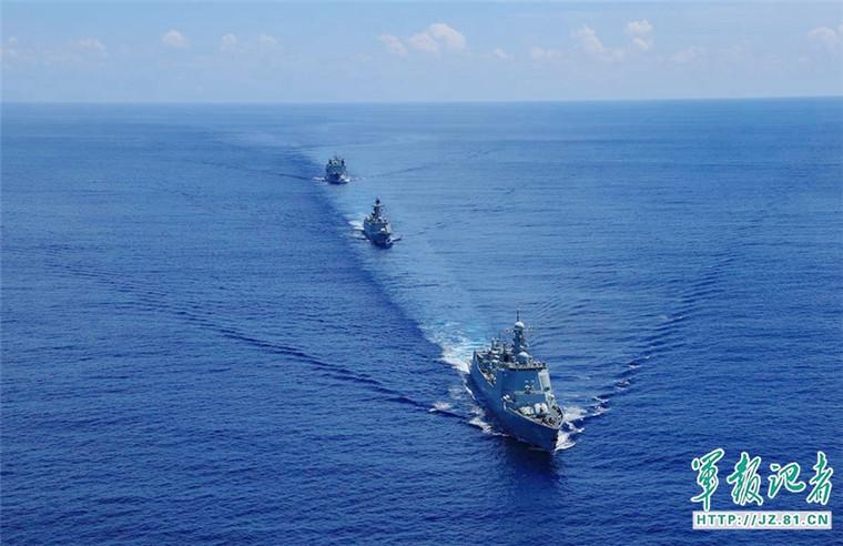 对华戒心?印媒称中国海军远航编队在印度碰壁
