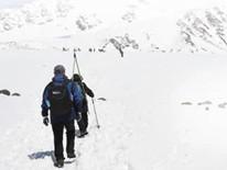 青海岗什卡雪峰 滑雪登山过夏天