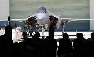 日本首公开日本参与生产F35A战机