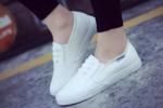 情侣百搭 简约帆布 小白鞋
