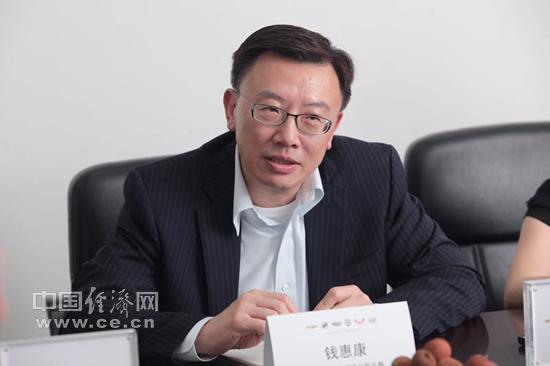 钱惠康:通用汽车乐观看待中国市场的未来