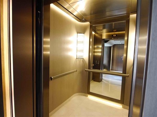 世界最快电梯坐落广州 速度高达1260米/分钟