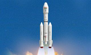 印度欢呼国产最大推力火箭升空