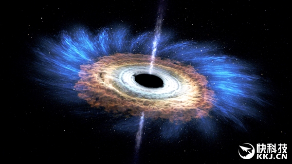 宇宙奇迹!人类第一次亲眼看见黑洞诞生