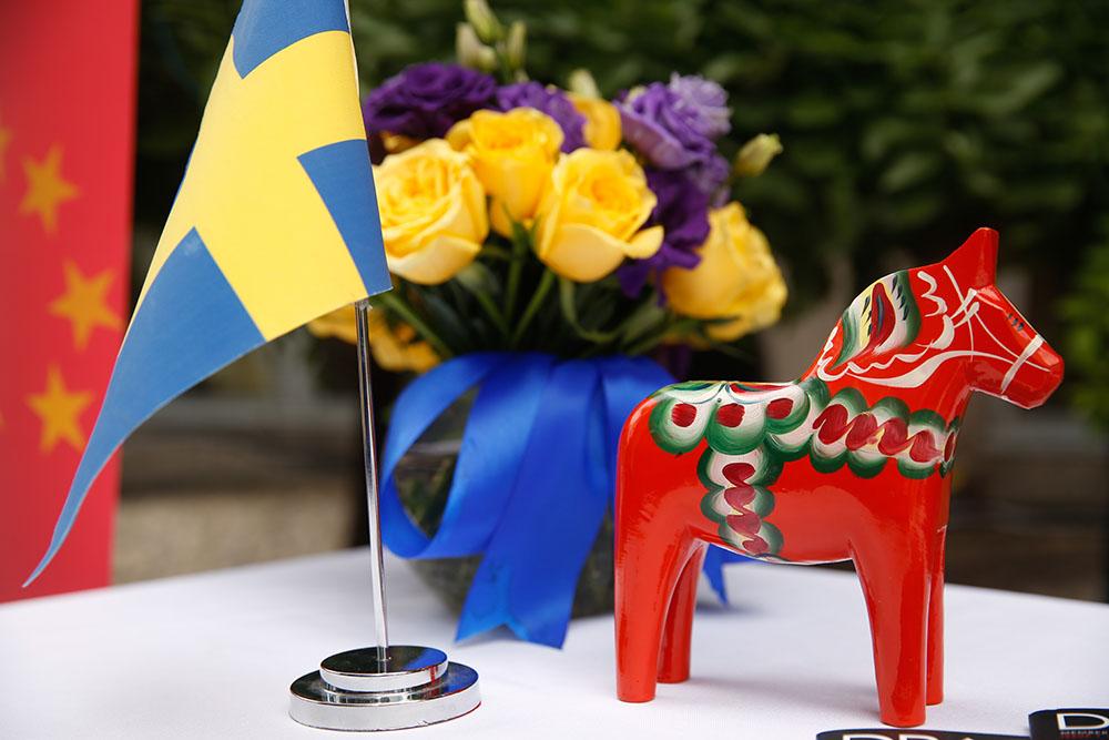 """沃尔沃汽车携领先""""智""""科技庆祝瑞典国庆"""
