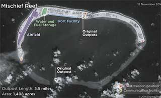 美军力报告对中国岛礁说三道四