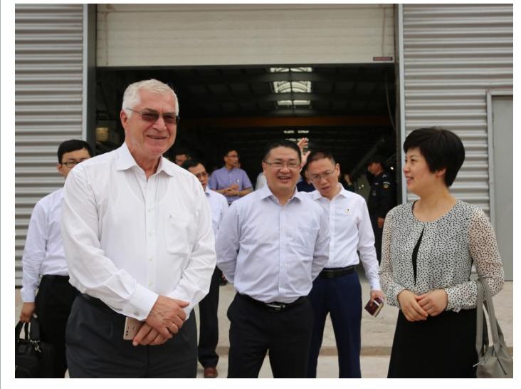 乌驻华大使:希望天骄航空重庆基地成中乌合作典范