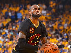 NBA总决赛G2:勇士132-113骑士