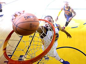 NBA总决赛G1:骑士90-113勇士