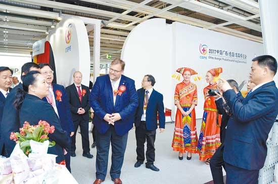 2017中国广西商品博览会在德国奥芬巴赫举办