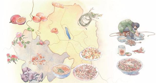 在云南,赴一场菌果盛宴