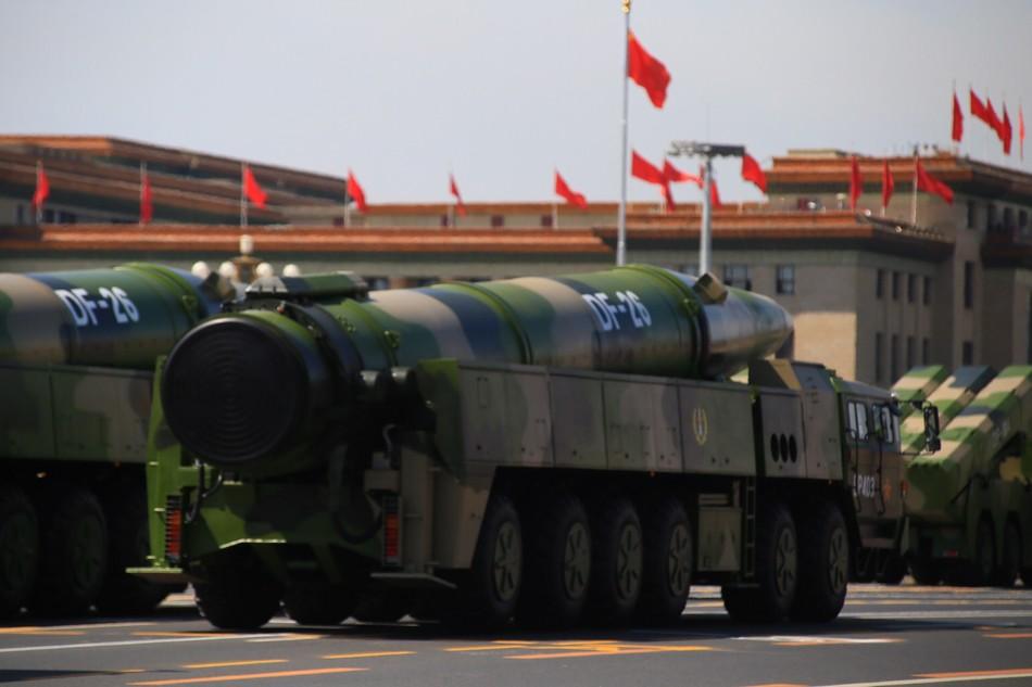 美何必对中国军力疑神疑鬼 中国没意愿挑战美国