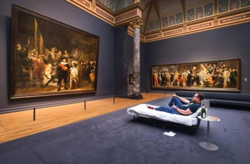 博物馆奇妙夜 荷兰男子成特殊访客 与名画度良宵