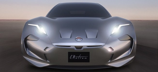 菲斯科EMotion电动跑车官图发布 起价合88万元
