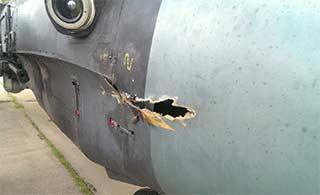 离奇事故:卡52机炮击中本机机首
