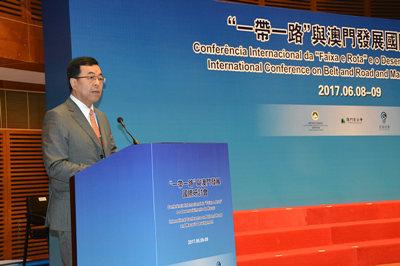 """王炯:中信将与澳门经济界加强合作 共同助力""""一带一路"""""""