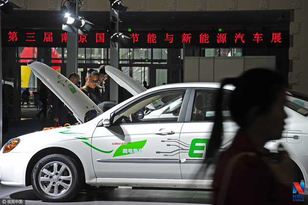 科技部:中国新能源汽车 全球占比一半