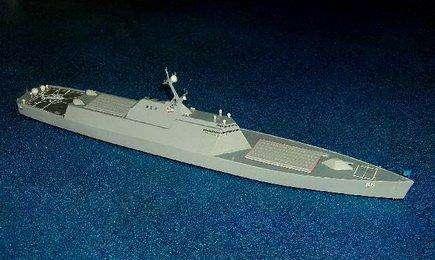外媒疯传的中国武库舰威力几何?能载数百枚导弹
