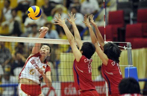 瑞士赛中国女排2-3不敌阿根廷 遭2017赛季首败