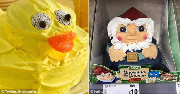 """让孩子们""""惊吓""""的生日蛋糕图片"""