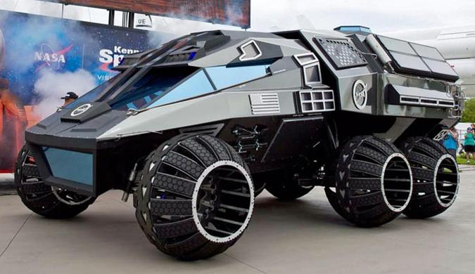 "NASA揭晓火星""蝙蝠车""搭载可分离实验室"