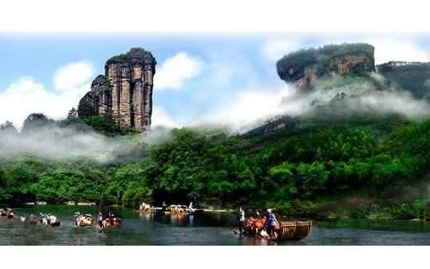 世界文化与自然遗产:武夷山