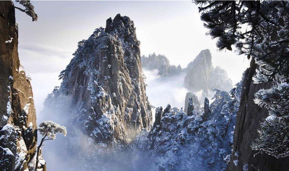 世界自然与文化遗产:黄山