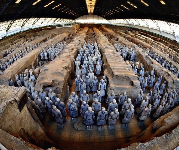 世界文化遗产:秦始皇陵