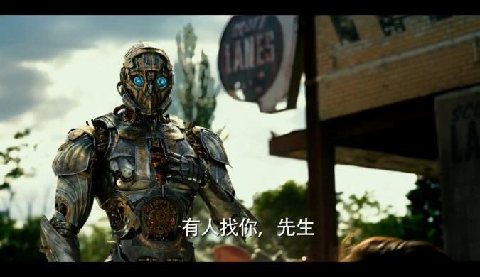 """《变形金刚5》曝光""""龙风暴""""战斗画面曝光"""