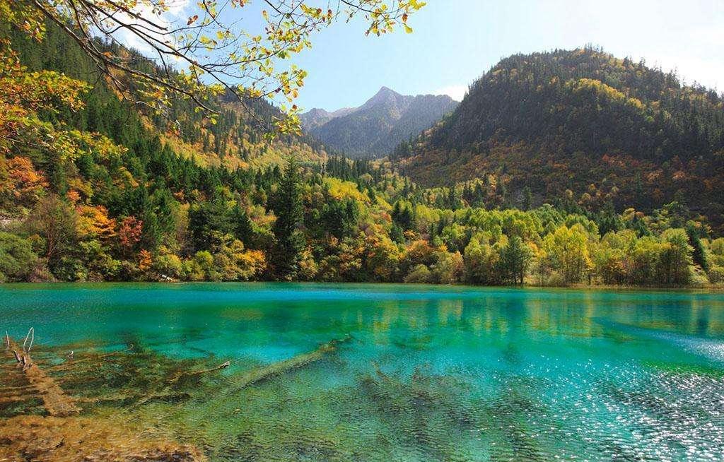 世界自然遗产:九寨沟风景名胜区