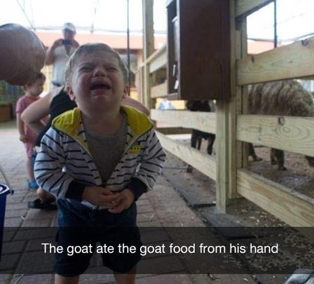 小孩发脾气哭起来可不好惹图片