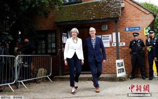 特雷莎•梅遇重大挫折!英国大选保守党失去绝对多数席位
