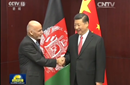 习近平会见阿富汗总统