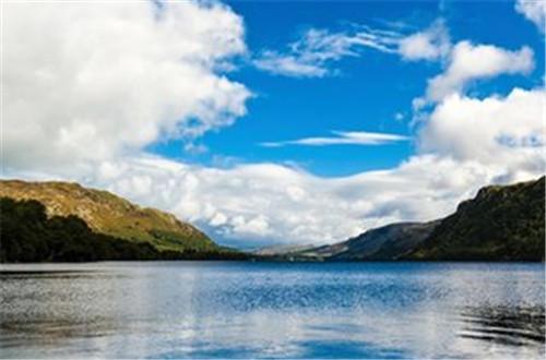 湖区的旅游胜地 英国的小城风范