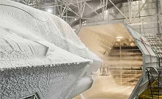 F35战斗机极寒测试被冰雪包裹