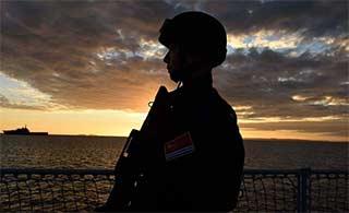 中国海军军舰上生活完全展示