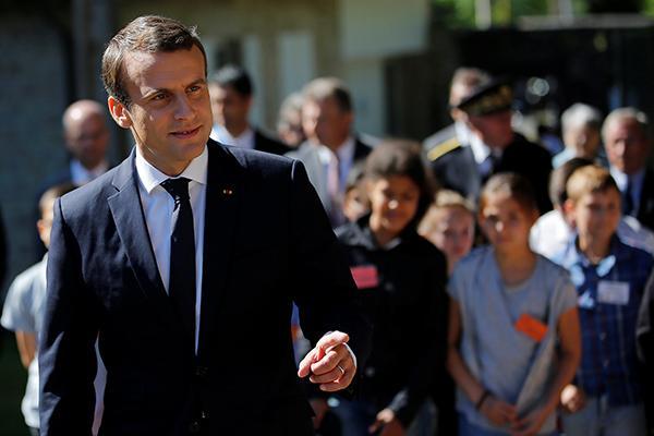 """法国立法选举今开锣,马克龙的布局有望助其成为""""超级总统"""""""