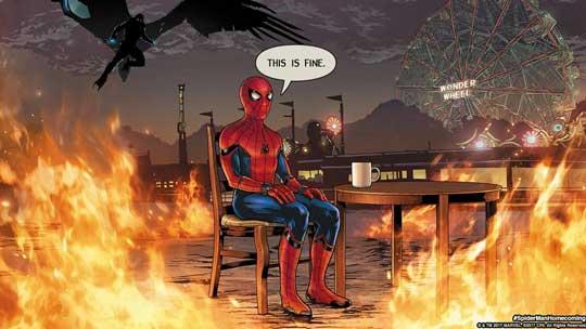 《蜘蛛侠:英雄归来》曝NBA版预告 小蜘蛛被放鸽子
