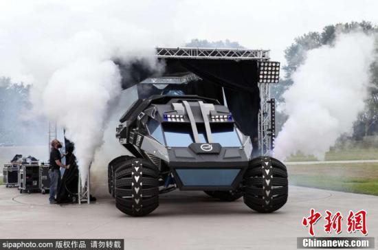 NASA发布新火星探测概念车,外观像蝙蝠侠座驾