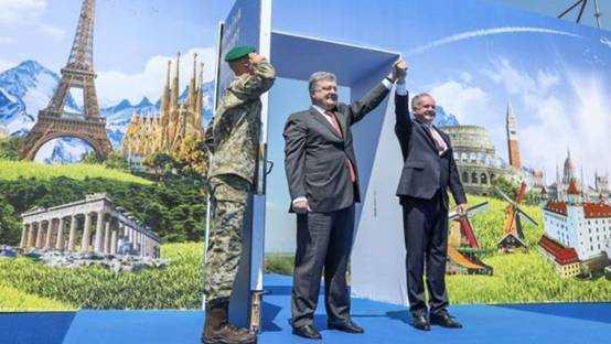 欧盟对乌克兰公民实行入境免签 乌总统出席庆祝仪式