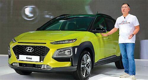 现代推出新车型KONA 欲打造SUV全生产线