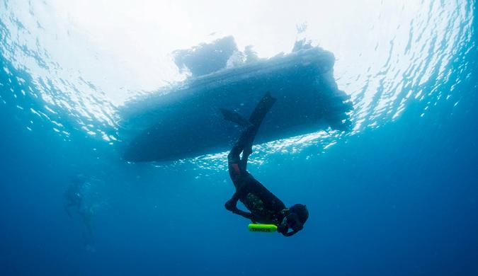 潜水新装置Scorkl问世 可在水下呼吸10分钟
