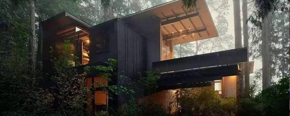 这个77岁的顶级建筑师,花57年盖了一座梦幻木屋